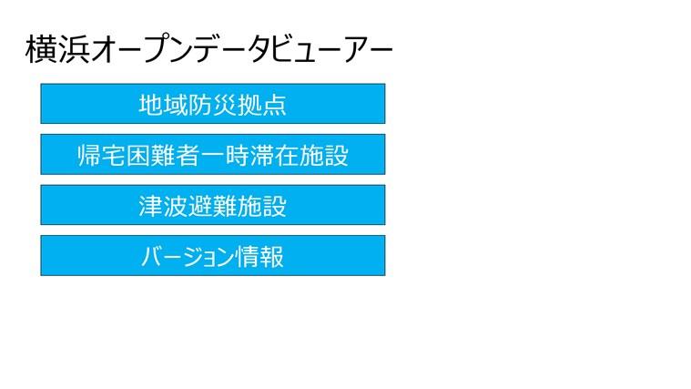 横浜オープンデータビューアー画像